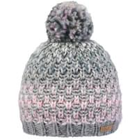 BARTS NICOLE BEANIE GIRLS HEATHER GREY SIZE 53 19