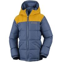 Haut COLUMBIA COLUMBIA GYROSLOPE JACKET BOY DARK MOUNTAIN 19 - Ekosport