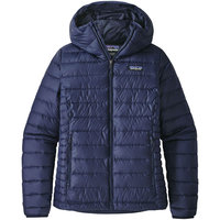 PATAGONIA W'S DOWN SWEATER HOODY CLASSIC NAVY 20