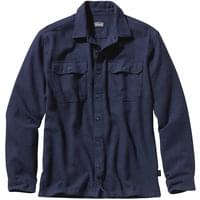 PATAGONIA L/S FJORD FLANNEL SHIRT NAVY BLUE 20