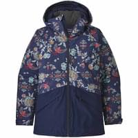 PATAGONIA W'S INSULATED SNOWBELLE JKT VILLAGE BYRD NAVY BLUE 19