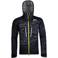 Vêtement hiver ORTOVOX ORTOVOX 3L GUARDIAN SHELL JACKET M BLACK RAVEN 20 - Ekosport