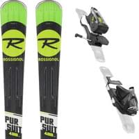 ROSSIGNOL PURSUIT 400 CARBON + NX 12 KONECT DUAL B80 BLK LIGHT GREEN 19