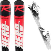 ROSSIGNOL HERO JUNIOR + XPRESS JR 7 B83 BLACK WHITE 20