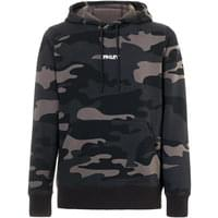 OAKLEY STREET LOGO HOODED CAMO FLEECE GREY CAMO 19
