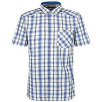 REGATTA MINDANO III OXFORD BLUE CHECK 18