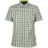 REGATTA MINDANO III LIME GREEN CHECK 18
