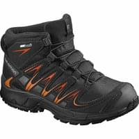 SALOMON XA PRO 3D MID CSWP JR BLACK/BLACK/OR 18