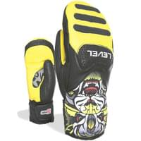 LEVEL SQ JR FC MITT YELLOW 20