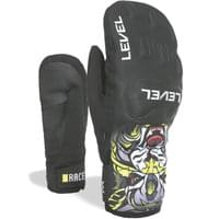 LEVEL RACE JR MITT PINK NOIR 20