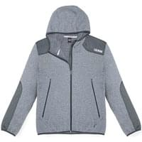COLMAR FULL ZIP KNITTED FLEECE HD GREY MELANGE-ECLIPSE 19