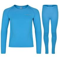 EBN Dare2B DARE 2B DARE 2B TRIGGER BASE LAYER SET JR FLURO BLUE 19 - Ekosport