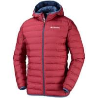 COLUMBIA LAKE 22 DOWN HD JKT RED ELEMENT 19