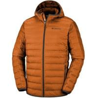 Textile - accessoires COLUMBIA COLUMBIA LAKE 22 DOWN HD JKT BRIGHT COPPER 19 - Ekosport