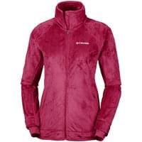 COLUMBIA PEARL PLUSH II FLEECE POMEGRANATE 19