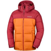 COLUMBIA PIKE LAKE HOODED JACKET RED ELMT, BRIGHT COPPER 19