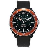 ALPINA WATCHES SEASTRONG HSW 44MM BLACK ORANGE 19