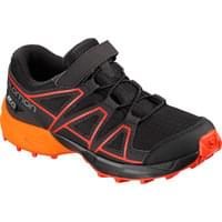 SALOMON SPEEDCROSS CSWP K BLACK/TANGELO/CHERRY TO 20