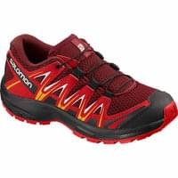 SALOMON XA PRO 3D J RED DAHLIA/BARBADOS CHERRY/SPECTRA YELLOW 19