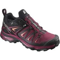 SALOMON X ULTRA 3 GTX W TWNY PORT/BLACK/LIVING CORAL 19