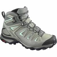 SALOMON X ULTRA 3 MID GTX W SHADOW/CASTOR GRAY/BEACH GLASS 20