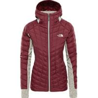 THE NORTH FACE W THB HYBRID GL HDE RUMB RED/OATM 19