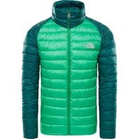 THE NORTH FACE M TREVAIL JACKET PRIMARY GREEN/B 19
