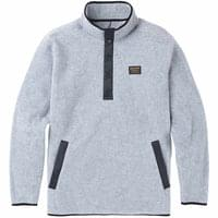 Textile BURTON BURTON MB HEARTH FLC PLVR GRAY HEATHER 19 - Ekosport