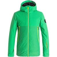 QUIKSILVER SIERRA YOUTH JKT KELLY GREEN 18