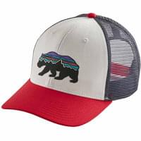 PATAGONIA FITZ ROY BEAR TRUCKER HAT WHITE 20