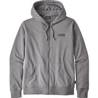 PATAGONIA M'S P6 LABEL LW FULLZIP HOODY FEATHER GREY 20
