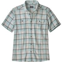 PATAGONIA M'S STEERSMAN SHIRT PROTESTER PLAID ATOLL BLUE 19