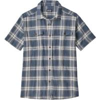 PATAGONIA M'S STEERSMAN SHIRT PROTESTER PLAID STONE BLUE 19