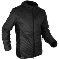 VERTICAL HYBRID DOWN JACKET BLACK 19
