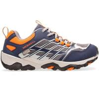 MERRELL M-MOAB FST LOW WTRPF JR NAVY/GRY/OR 21