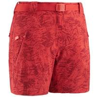 EIDER FLEX PRINT SHORT W SPICY CORAL 19