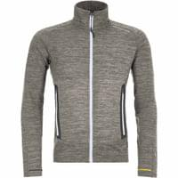 ORTOVOX FLEECE LIGHT MELANGE JACKET M GREY BLEND 21