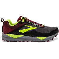 BU Fond / Rando BROOKS BROOKS CASCADIA 14 BLACK/RED/NIGHTLIFE 19 - Ekosport