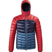 BU TEXTILE MILLET MILLET TRILOGY DIAMOND DOWN HOOD INDIAN ROUGE 20 - Ekosport