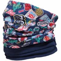 BARTS POLAR PATCHES ALL OVER DENIM 19