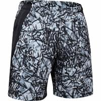 BU TEXTILE UNDER ARMOUR UNDER ARMOUR LAUNCH SW 7'' PRINTED SHORT BLACK/REFLECTIVE 19 - Ekosport