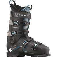 Boutique SALOMON SALOMON S/PRO 100 W BLACK/BLUE/SCUB 21 - Ekosport
