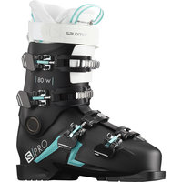 SALOMON S/PRO 80 W BLACK/SCUBA BLUE 20