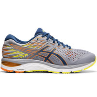 ASICS GEL CUMULUS 21 SHEET ROCK/MAKO BLUE 19