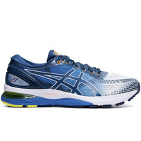 ASICS GEL NIMBUS 21 WHITE/LAKE DRIVE 19