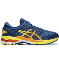 ASICS GEL KAYANO 26 MAKO BLUE/SOUR YUZU 19