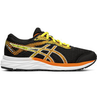 ASICS GEL EXCITE 6 GS JR BLACK/SHOCKING ORANGE 19