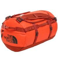 THE NORTH FACE BASE CAMP DUFFEL S ACRYLC ORANGE/PICANTE RED 19