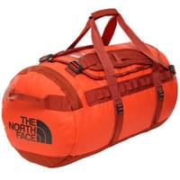 THE NORTH FACE BASE CAMP DUFFEL M ACRYLC ORANGE/PICANTE RED 19