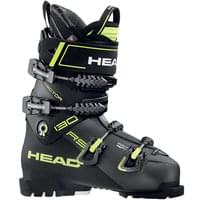 BU SKI HEAD HEAD VECTOR 130S RS ANTHRACITE/BLACK 20 - Ekosport